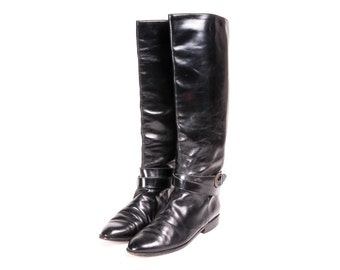 Riding Style Boots Women's Size 8 CHARLES DAVID