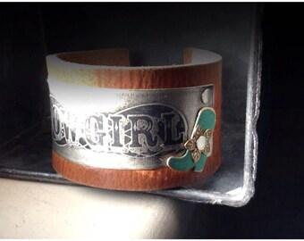 Cowgirl Cuff Bracelet