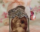SALE Vintage Perfume Bottle - Sweet Girl