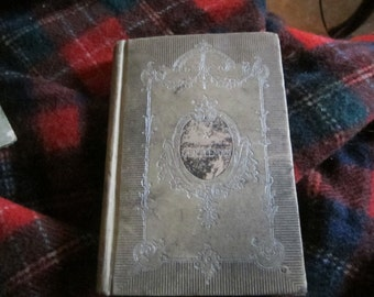 vintage antique 1800s rare book A GENTLEMAN  to charles neumayer at   st  benidicts college atchison kansas commencement day june 26th 1901