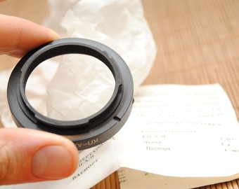 New !!  Rear end for soviet A-serie lenses for  KIEV 17,-19,-19m,-20 and  Nikon F Cameras