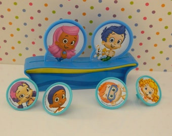 Bubble Guppies Cake Topper/ Kit / Party Decoration / Cake Top