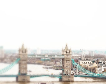 London photography, Tower Bridge, London Fog, 8x8, London