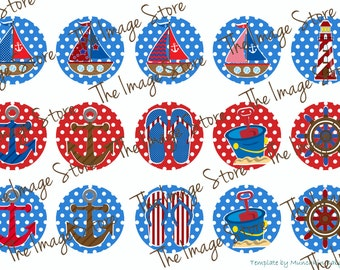 Summer Bottlecap image sheet