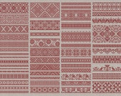 Decorative Borders - 50 Original Cross-Stitch Designs - Instant Download PDF Embroidery Pattern