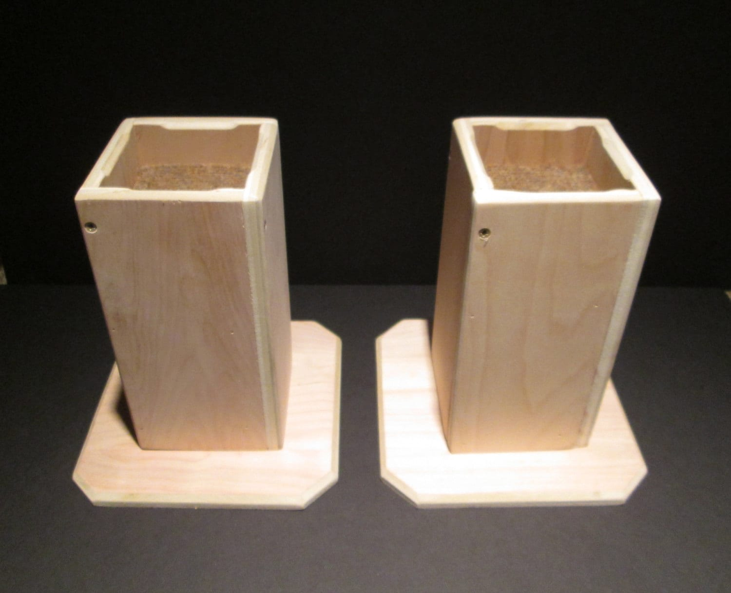 furniture risers 8 inch all wood construction by odyssey359