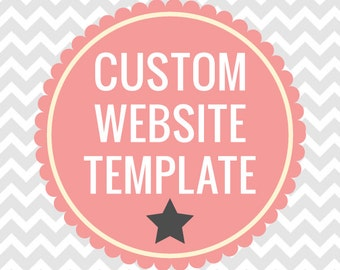 Custom Website Template With Your Logo