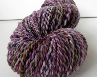 Handspun Wool Yarn -  120 yards
