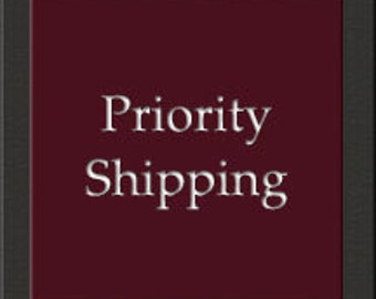 Priority 2-3 Day Shipping Add On