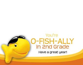 O-Fish-Ally Treat Bag Topper
