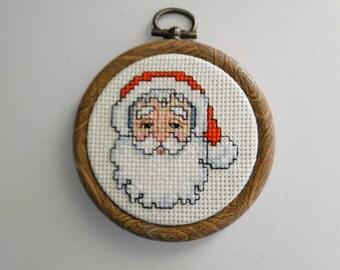 Santa Claus Head Ornament