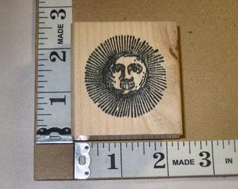 Rubber Stamp - Sun
