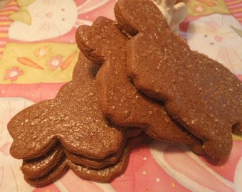 Gingerbread Bunny Cookies Spring Bunny Shaped Ginger Cookies, Perfect Gift