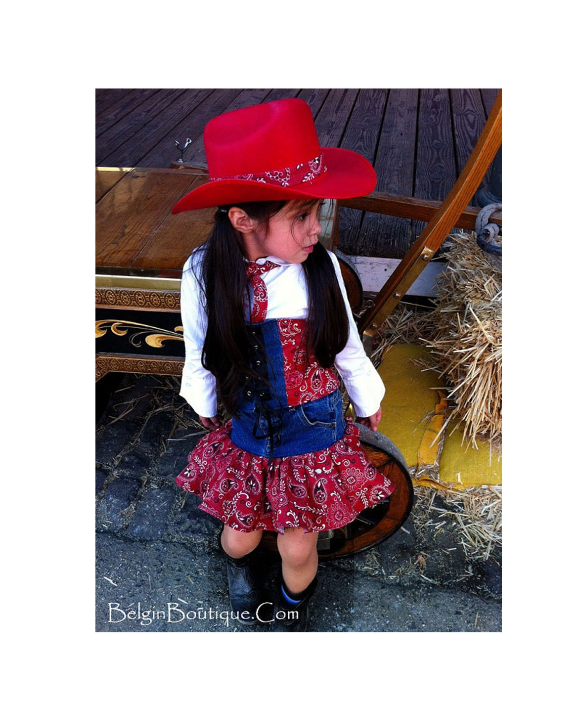 Denim Wear Pageants Rodeo Denim Casual Wear