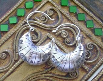 Karen Hilltribe Silver Earrings - The Smile Silver Bag(4)