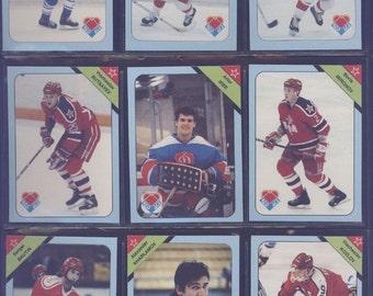 Russian Hockey  Stars.  Set of 35 cards (Russian & English text) - Mint