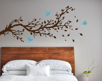 Birds Branch Tree Limb decal