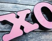 Reclaimed Metal letter - XO
