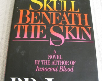 P.D. James Signed The Skull Beneath The Skin Book