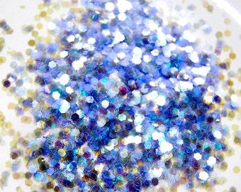 Light Purple Sparkle Glitter 0.062 Hex - 1 Fl. Ounce for Glitter Nail Art & Glitter Crafts