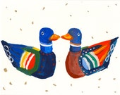Korean Wedding Ducks 8x10