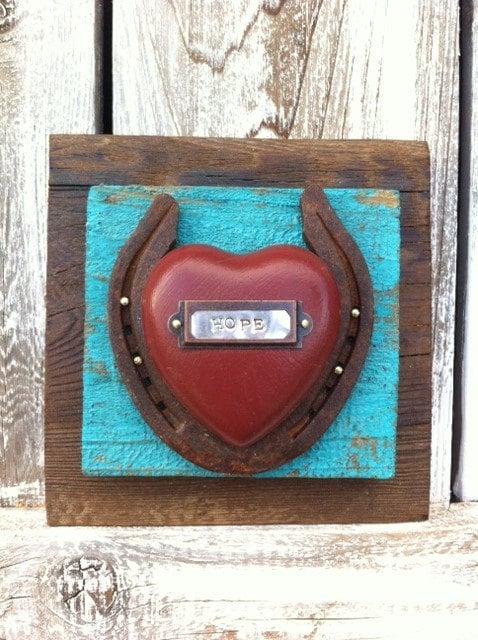 Western Horseshoe Home Decor Western Inspirational Gift