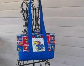 Smaller KU Purse/Bag, Jayhawk Bag