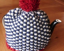 Hand Knitted  Large Tea Cosy