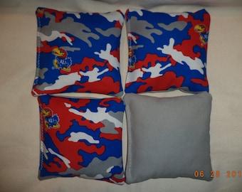 Cornhole bags Kansas Jayhawks corn hole bean bags Jayhawks bean bags 4 ACA Regulation