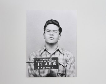 MUG SHOT | Vintage Photo Screen Print | Kenny