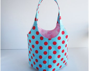 PDF Sewing Pattern -Daily Tote Handbag-(Downloadable)