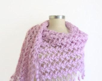 Lilac shawl design new season bolero scarf stole shrug holiday gift,collar,cowl,stole,bolero,gift,handmade,lila,wrap,warm,capelet,
