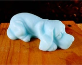 Soap: Lazy Mutt Dog Soap - Dog-Shaped Soap For Human Use, You Choose Color & Scent