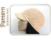 Crochet Pattern Classic Baseball Cap H1005