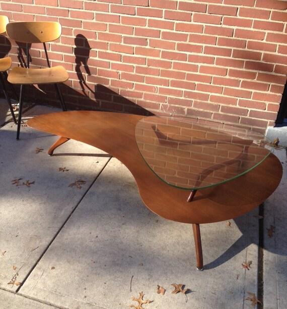 Mid Century Modern Biomorphic Coffee Table