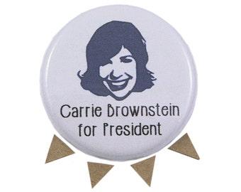 Carrie Brownstein, Portlandia, Sleater-Kinney, Funny Portlandia Pin, Funny Carrie Brownstein Magnet, Portlander Gift, Oregonian Present