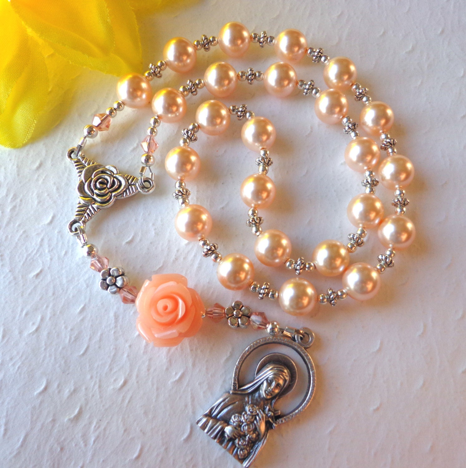 SALE St Therese Chaplet The Little Flower Rosary