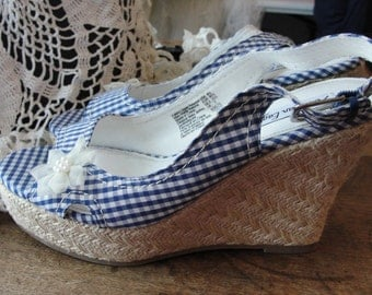 Wedge shoes, sandle shoes, summer shoes, wedge heels, high heels, boho heels, romantic shoes, sandles