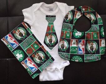 Boutique Boston Celtics Baby Gift Set