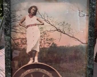 Historical Art Photo Grandma Had Game Virginia Farm Find