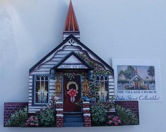Handmade Wooden Church