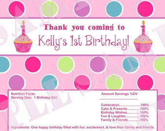 Sweet Little Cupcake Birthday Party Pack, YOU PRINT