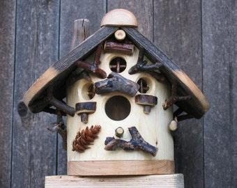 Heart of the Spruce Birdhouse