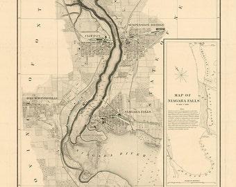 Niagra Falls 1875