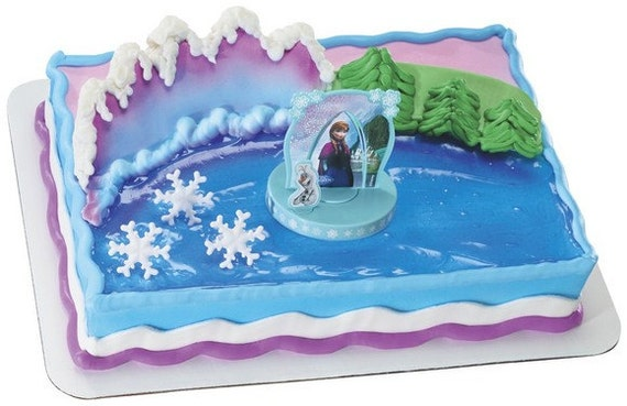 Decorating Ideas # Disney Frozen Anna Elsa Cake Decoration By Sweetcreationsparty
