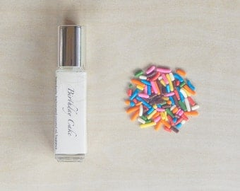 Birthday Cake Perfume - Buttercream / Vanilla Frosting / Sprinkles - 8mL