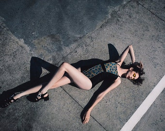 Caravaggio one piece bathing suit