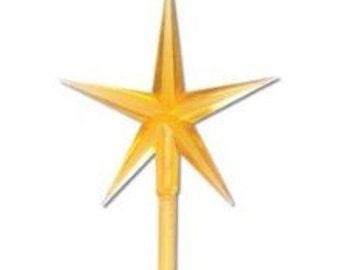 Ceramic Christmas Tree GOLD STAR