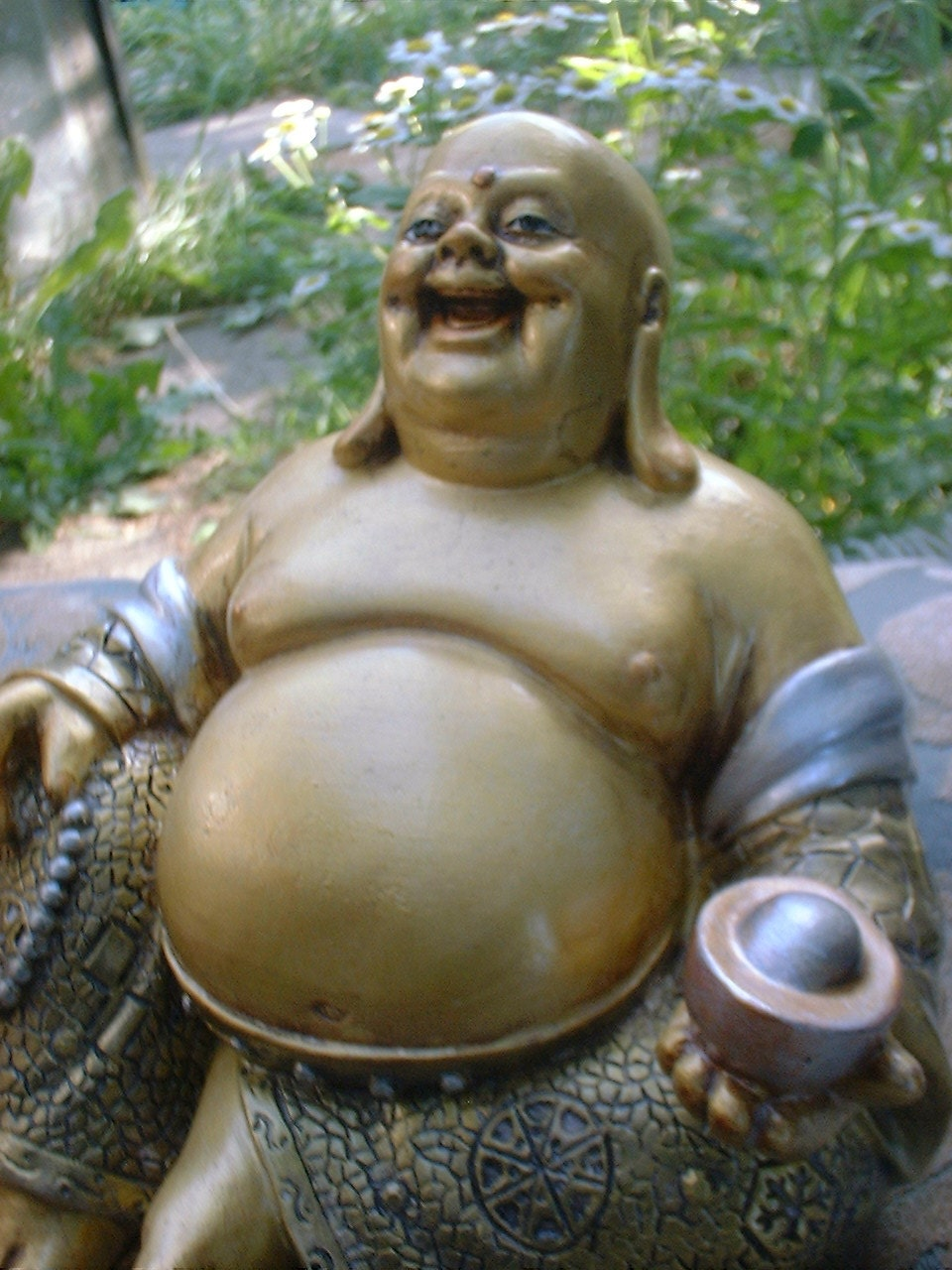 Ho tai statue fat buddha abundance good luck buddha for Does buddha bring good luck