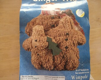 WIMPOLE STREET CREATIONS Chenille Ginger Trio Kit